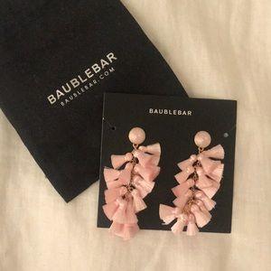 NEW // BaubleBar Blush Contessa Tassel Earrings